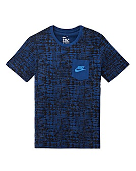 Nike All Over Print Pocket T-Shirt