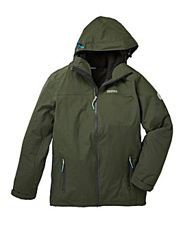 Snowdonia khaki 3-in-1 Jacket