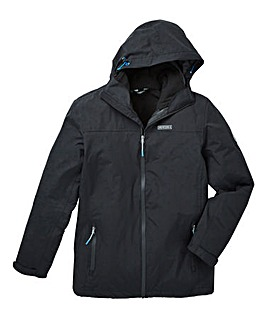 Snowdonia Black 3-in-1 Jacket
