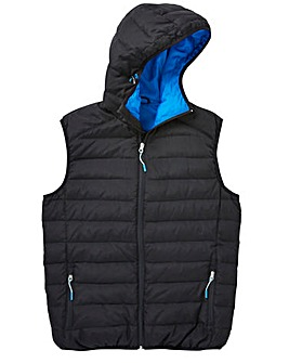Snowdonia Black Duck Down Gilet