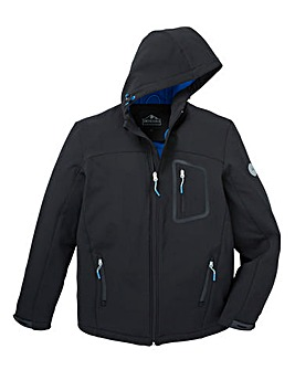 Snowdonia Black Soft Shell Jacket