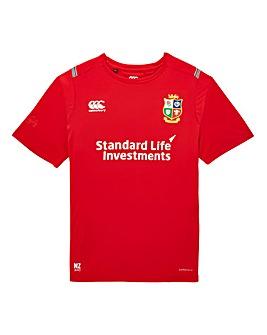 Canterbury Lions Poly Logo T-Shirt