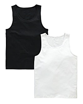Capsule Pack Of 2 Vest Tops
