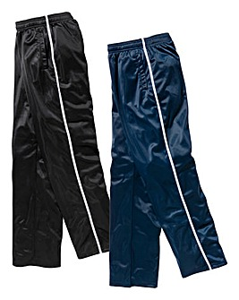 JCM Sport Pack of 2 Polyester Pants 27in