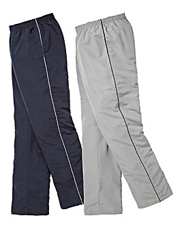 JCM Sports Pack 2 Woven Pants 33in Leg