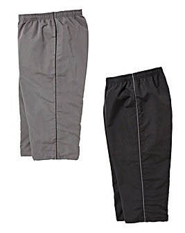 Capsule Pack of 2 3/4 Length Joggers
