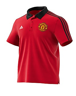 Manchester United Replica 3 Stripe Polo