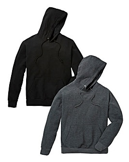 Capsule Pack of 2 Overhead Hoodies