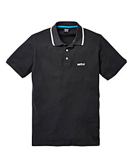 Mitre Tipped Pique Polo Long