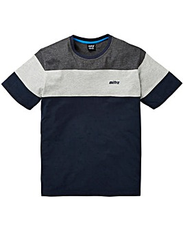 Mitre Colour Block T-Shirt Regular