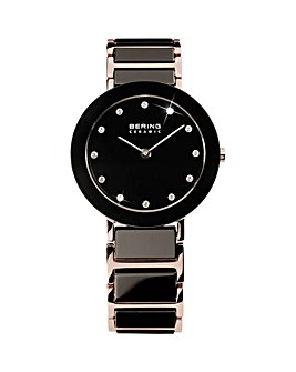 Bering Ladies Black Bracelet Watch
