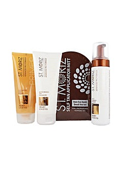 St Moriz Dark Tan Bundle