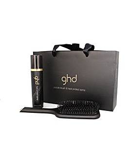 GHD Heat Protect and Paddle Set