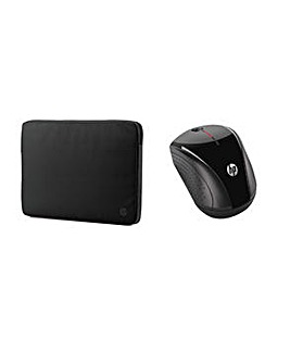 """HP Wireless Mouse and Case 15.6"""""""