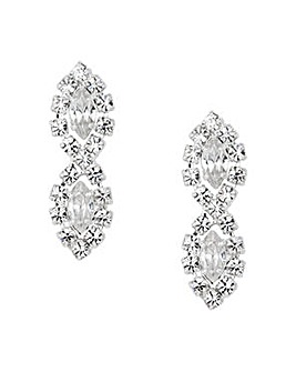 Jon Richard Lydia Diamante Earring