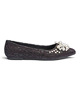 Sole Diva Breanna Jewelled Shoe E Fit