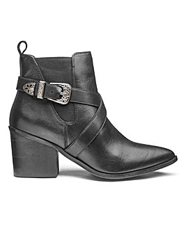 Sole Diva Jessy Leather Boots E Fit