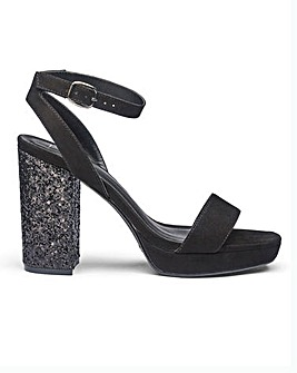 Sole Diva Ally Glitter Platforms E Fit