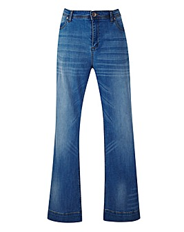 Dry Cast Flare Jeans