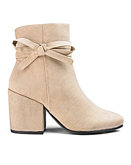 Sole Diva Elsie Bow Boot EEE Fit