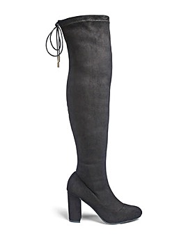 Sole Diva Sam Boots Super Curvy EEE Fit