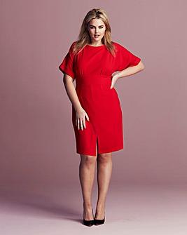 Closet Split-Front Dress
