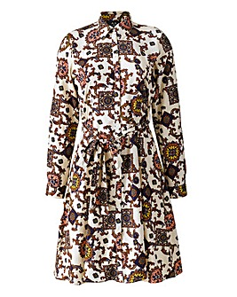 AX Paris Paisley Print Shirt Dress