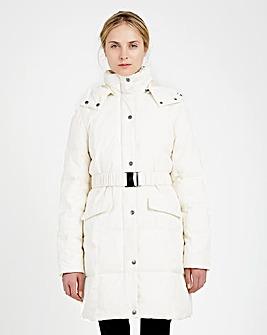 Puffa Padded Belted Coat