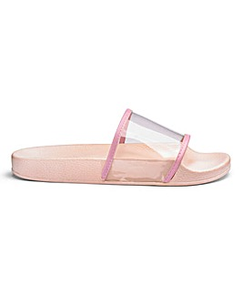 Sole Diva Perspex Slider D Fit