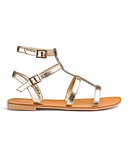 Sofia Gladiator Sandals Wide Fit