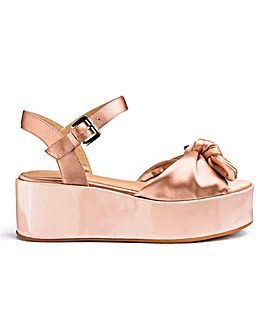 Daphne Flatform Sandals Extra Wide Fit