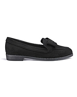 Juno Bow Loafers Wide Fit