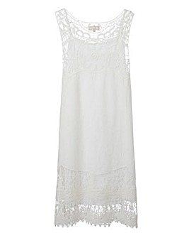 By Cream Crochet Dress