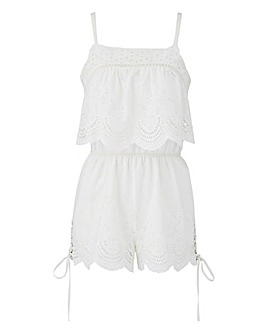 Loverbird Crochet Playsuit