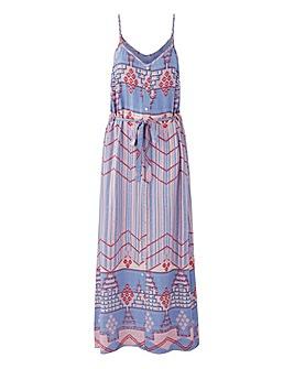 Loverbird Button Down Maxi Dress