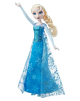 Disney Frozen Singing Fashion Doll-Elsa