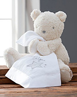 Silvercloud Teddy Bear with Muslin