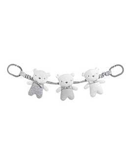 Silvercloud Baby Bear Travel Charm