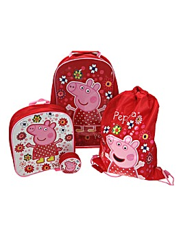 Peppa Pig Luggage Set