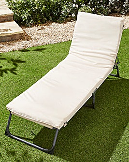 Roma Padded Lounger