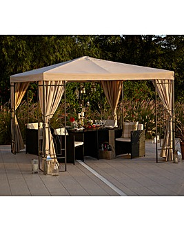 2.5 Metre PVC Decorative Square Gazebo