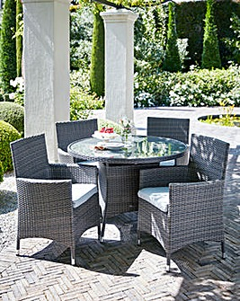 Adelaide 4 Seat Dining Set