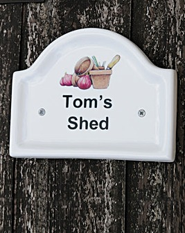 Shed Plaque