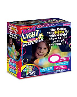 Bright Lights Pillow Beatz Flashing Star