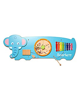 Personalised Wooden Elephant Wall Toy