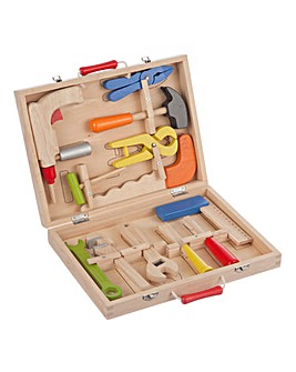 Personalised Wooden 12pc Tool Box