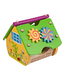 Personalised Wooden Activity House