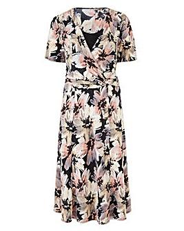 Print Jersey Dress 48in