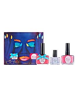 Ciate Neon Pink Nail Art Set