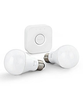 Phillips Hue E27 White Starter Kit